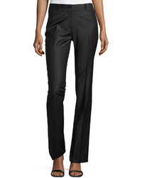Halston Heritage Boot Cut Tailored Pants Charcoal
