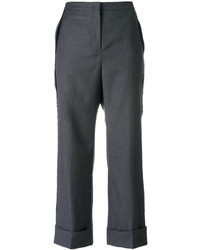 No.21 No21 Bootcut Cropped Tailored Trousers