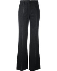 Salvatore Ferragamo Pinstripe Boot Cut Trousers