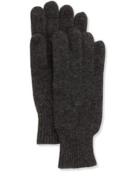 Hat Attack Cashmere Blend Gloves Charcoal