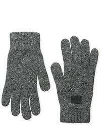 Armani Jeans G6 Wool Blend Speckled Gloves