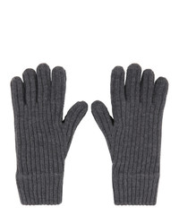 Burberry Grey Gloves