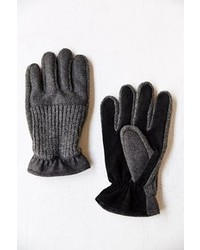Urban Outfitters Knit Suede Glove