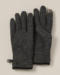 Eddie Bauer Windcutter Fleece Touchscreen Gloves