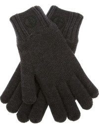Wool knit gloves medium 161991