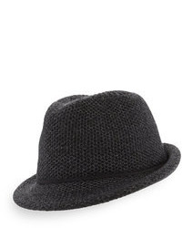 Charcoal Wool Hat