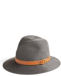 Addie wool fedora grey medium 3723297