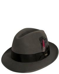 Scala Classico Wool Felt Fedora Black