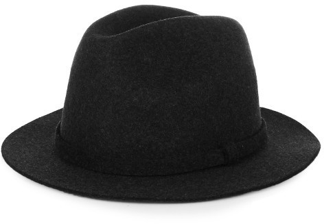 ... A.P.C. Fishing Wool Felt Fedora Hat 36370f183ad