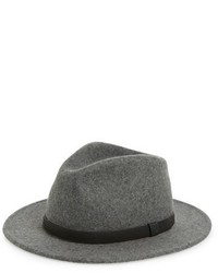 Messer wool fedora grey medium 578916
