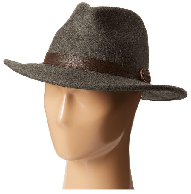 a0ab195b755e5 ... San Diego Hat Company Wfh7944 275 Brim Wool Felt Wide Brim Fedora ...