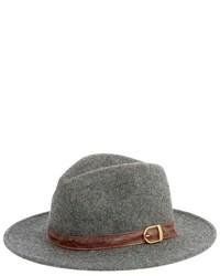 San Diego Hat Company Wool Felt Belted Fedora