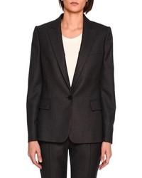 Stella McCartney Ingrid Single Breasted Jacket Charcoal