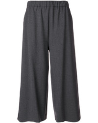 P.A.R.O.S.H. Gathered Waist Cropped Trousers