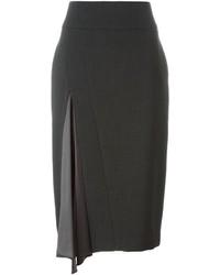 Brunello Cucinelli Pleated Detail Pencil Skirt