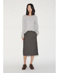 La Garçonne Moderne Flannel Skirt