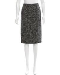 Michael Kors Michl Kors Wool Blend Pencil Skirt
