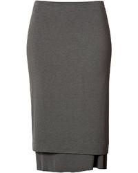 Donna Karan New York Jersey Layered Pencil Skirt
