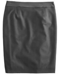 Pencil skirt in super 120s wool medium 366222