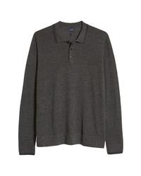 Good Man Brand Merino Wool Polo Sweater