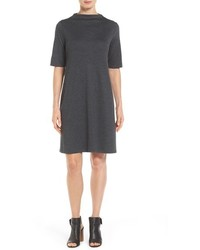 Eileen Fisher Heathered Jersey Shift Dress