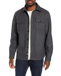 Schott NYC Cpo Wool Blend Work Shirt