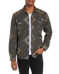 Life After Denim Warrior Slim Fit Wool Blend Shirt Jacket