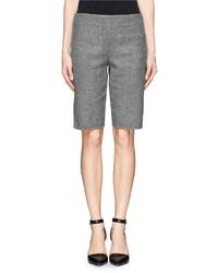 Nobrand Wool Blend Long Shorts