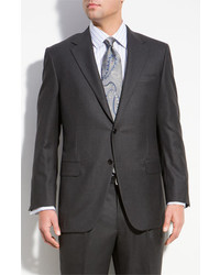 Hickey Freeman A Fit Wool Suit