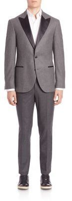 Brunello Cucinelli Wool Silk Blend Suit | Where to buy & how to wear