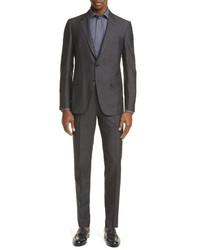 Ermenegildo Zegna Classic Fit Solid Silk Wool Suit
