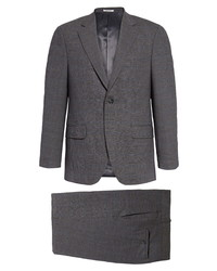 Peter Millar Classic Fit Solid Stretch Wool Suit