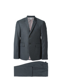 Thom Browne Classic Suit In Dark Grey Wool Twill