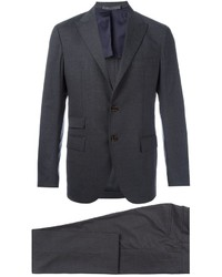 Eleventy Fitted Two Piece Suit