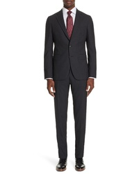 Boglioli Fit Solid Wool Suit