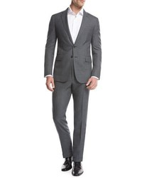 Ralph Lauren Fresco Wool Two Piece Suit Gray