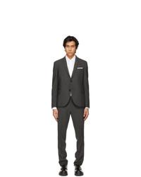 Neil Barrett Grey 360 Stretch Constructed Slim Suit