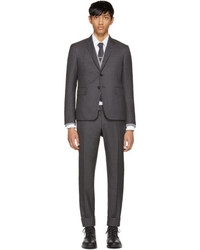 Thom Browne Grey Wool High Armhole Suit