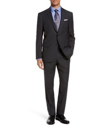 Ted Baker London Jay Trim Fit Stretch Solid Wool Suit