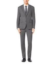 Michael Kors Michl Kors Grey Herringbone Suit