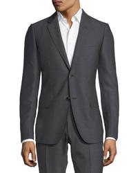 Gucci Monaco Pattern Wool Two Piece Suit