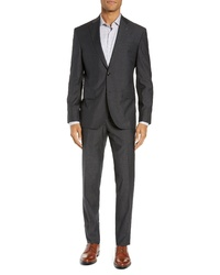 Ted Baker London Roger Slim Fit Dobby Wool Suit