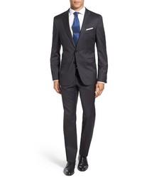 Ryanwin extra trim fit solid wool suit medium 844052