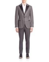 Brunello Cucinelli Wool Silk Blend Suit