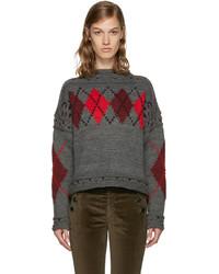 Isabel Marant Grey Glens Sweater