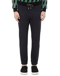 Christopher Kane Flannel Jogger Pants Black Size S
