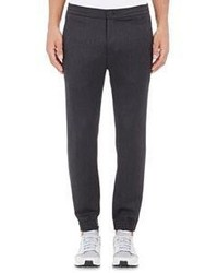 Theory Twill Plymouth Cw Joggers Black