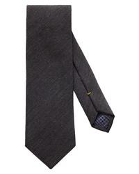 Eton Stripe Wool Blend Tie