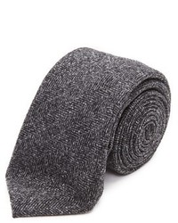 The gable wool herringbone tie medium 851075