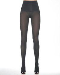 Charcoal Wool Tights